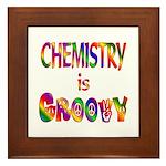 Chemistry is Groovy Framed Tile