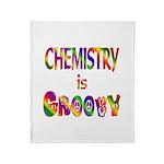 Chemistry is Groovy Throw Blanket