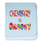 Chemistry is Groovy baby blanket
