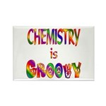 Chemistry is Groovy Rectangle Magnet