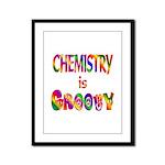 Chemistry is Groovy Framed Panel Print