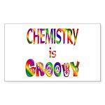 Chemistry is Groovy Sticker (Rectangle 50 pk)