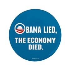 """Obama Lied 3.5"""" Button (100 pack)"""