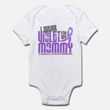 I Wear Violet 6 Hodgkin's Lymphoma Infant Bodysuit