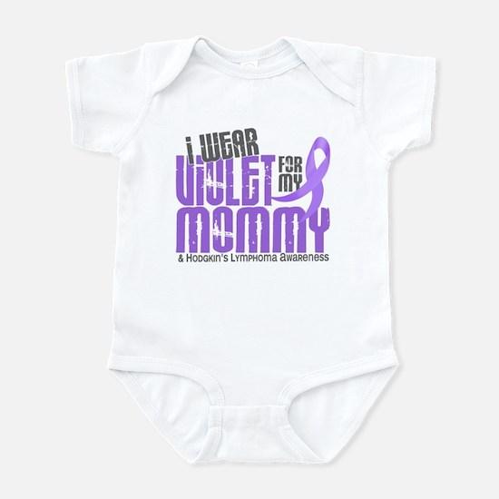 I Wear Violet 6 Hodgkin's Lymphoma Infant Bodysuit
