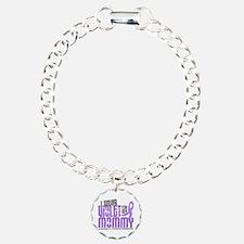 I Wear Violet 6 Hodgkin's Lymphoma Bracelet