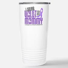 I Wear Violet 6 Hodgkin's Lymphoma Travel Mug