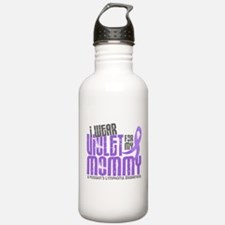 I Wear Violet 6 Hodgkin's Lymphoma Water Bottle