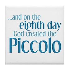 8th Day Piccolo Tile Coaster