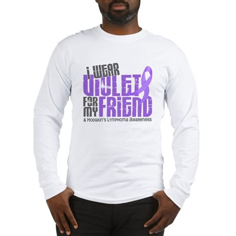 I Wear Violet 6 Hodgkin's Lymphoma Long Sleeve T-S