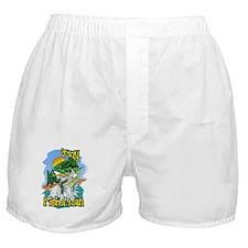 Cute Fish art Boxer Shorts