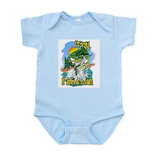 Funny Fish art Infant Bodysuit