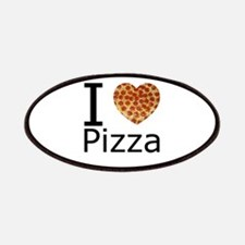 I Heart Pizza Patches