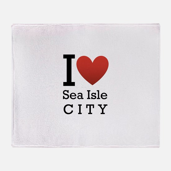 Sea Isle City Throw Blanket