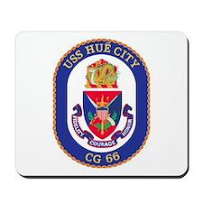 USS Hue City CG 66 Mousepad