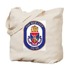 USS Hue City CG 66 Tote Bag