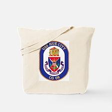 USS Hue City CG 66 Tote Bag