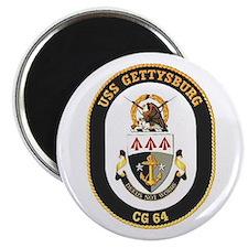 USS Gettysburg CG 64 Magnet
