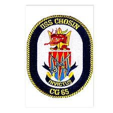 USS Chosin CG 65 Postcards (Package of 8)