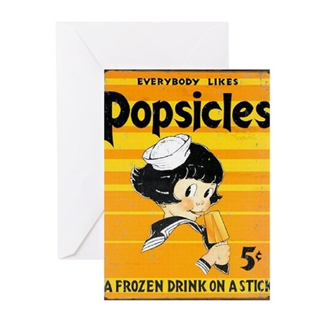 Popsicles! Greeting Cards (Pk of 20)
