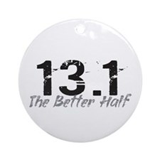 13.1 The Better Half Ornament (Round)