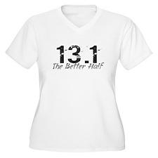13.1 The Better Half Women's Plus Size V-Neck Tee