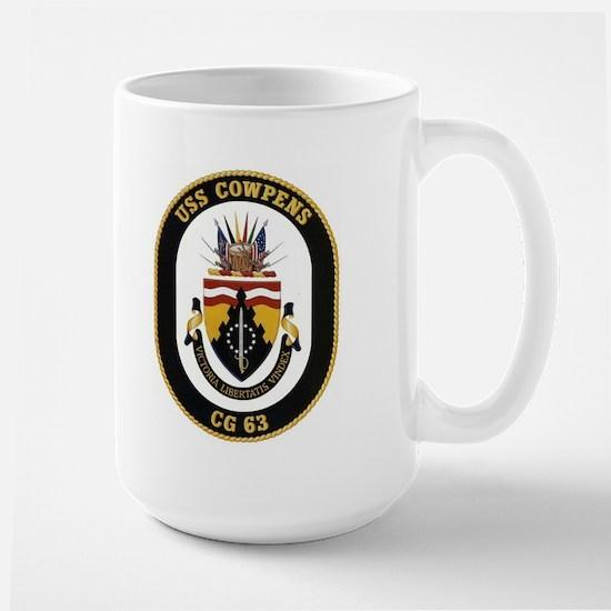 USS Cowpens CG 63 Large Mug