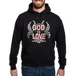 God Is Love Hoodie (dark)