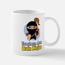 Teachers Are Brain Ninjas Mug