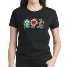 Peace Love Science Tee