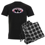 American Orpington Club Logo Men's Dark Pajamas