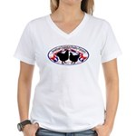 American Orpington Club Logo Women's V-Neck T-Shir