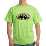 American Orpington Club Logo Green T-Shirt