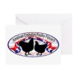 American Orpington Club Logo Greeting Card