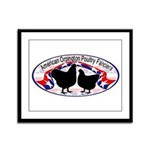 American Orpington Club Logo Framed Panel Print