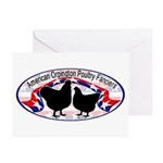 American Orpington Club Logo Greeting Cards (Pk of