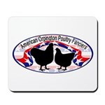 American Orpington Club Logo Mousepad