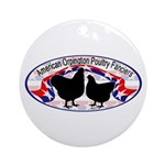 American Orpington Club Logo Ornament (Round)