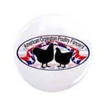 "American Orpington Club Logo 3.5"" Button (100"