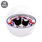 "American Orpington Club Logo 3.5"" Button (10"