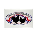 American Orpington Club Logo Rectangle Magnet (100