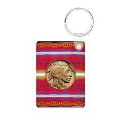 Indian Design-02a Keychains