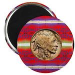 Indian Design-02a Magnet