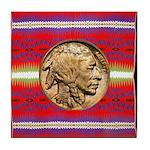 Indian Design-02a Tile Coaster