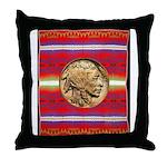 Indian Design-02a Throw Pillow