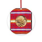 Indian Design-02a Ornament (Round)