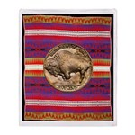 Indian Design-02ab Throw Blanket