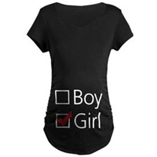Girl Checkbox T-Shirt