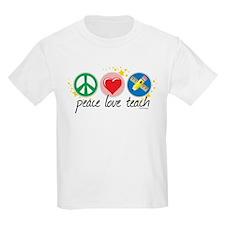 Peace Love Teach T-Shirt