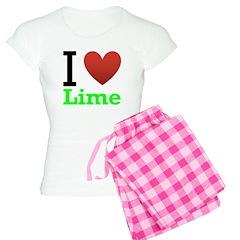 I Love Lime Pajamas
